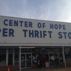 Photo taken at Center Of Hope Super Thrift Store by Becca @GritsGal on 3/9/2012