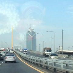 Photo taken at สะพานพระราม 9 (Rama IX Bridge) by 💃ÑÄMŃHÛÑG💃 on 6/23/2012