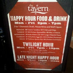 Photo taken at The Tavern Uptown by Dan M. on 5/8/2011
