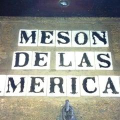 Photo taken at Meson de las Americas by Ivan C. on 1/14/2012