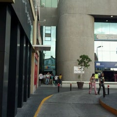 Photo taken at Plaza Boulevares by JORGE N. on 4/22/2012