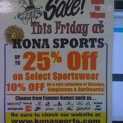 Photo taken at Kona Sports by Brandon K. on 7/22/2011
