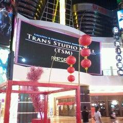 Photo taken at Trans Studio Makassar by Bayu D. on 1/17/2012