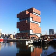 Photo taken at MAS I Museum aan de Stroom by Bram G. on 10/16/2011