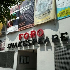 Photo taken at Foro Shakespeare by José G. on 9/17/2011