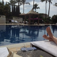 Photo taken at Kea Lani Adult Pool by Corinne L. on 2/26/2012