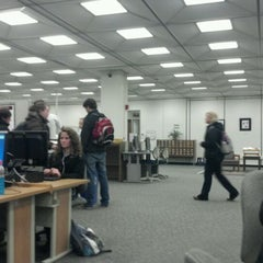 Photo taken at IPFW Helmke Library by Kayla W. on 1/12/2012