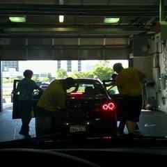 Photo taken at Mister Car Wash by Erik P. on 9/9/2011