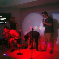 Photo taken at Pulse Karaoke by Cristina F. on 7/4/2012
