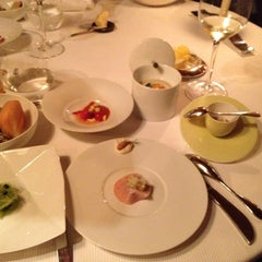 Photo taken at Pierre Gagnaire by Den P. on 6/6/2012