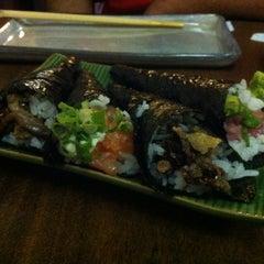 Photo taken at Semi Yakitori Bar by Mayra S. on 4/16/2012