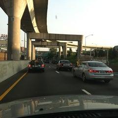 Photo taken at Van Wyck Expressway (I-678) by Eve Y. on 7/5/2012