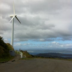 Photo taken at Wind Turbine by Shereen L. on 3/4/2012