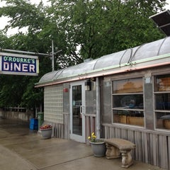 Photo taken at O'Rourke's Diner by Kathryn S. on 6/13/2012