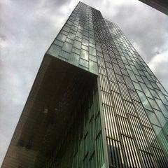 Photo taken at Meliá Barcelona Sky by Mark T. on 5/20/2012