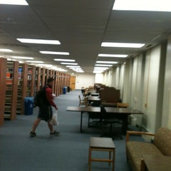 Photo taken at Albert S. Cook Library by Peter E. on 5/11/2012