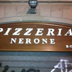 Photo taken at Nerone Trattoria by Alex B. on 2/16/2012