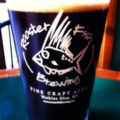 Photo taken at Rooster Fish Brewing by Michael I. on 4/18/2012