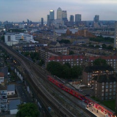 Photo taken at Shadwell DLR Station by Charlotte K. on 7/27/2012