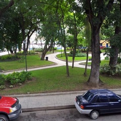Photo taken at Plaza Bolívar de Naguanagua by Yvan Y. on 7/6/2012