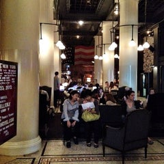 Photo taken at Ace Hotel Lobby Bar by om m. on 3/23/2012