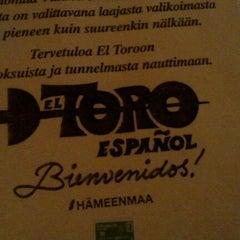 Photo taken at El Toro by Petri P. on 8/31/2012