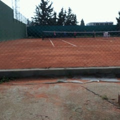 Photo taken at Tennis Club De L'Avenir Sportif De La Marsa by Adel B. on 11/5/2011