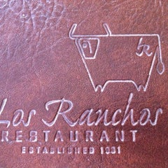 Photo taken at Los Ranchos Steakhouse by Jorge R. on 6/23/2012