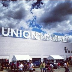 Photo taken at Union Market by Stills on 9/9/2012