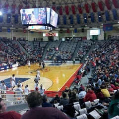 Photo taken at Vines Center by Joey B. on 2/26/2012