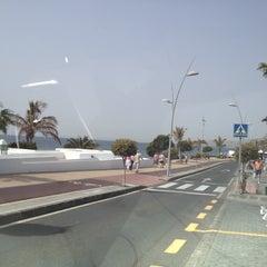 Photo taken at Avda De Las Playas by Alessandro D. on 3/22/2012