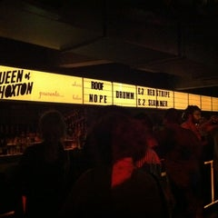 Photo taken at Queen of Hoxton by cøsina w. on 5/24/2012