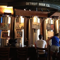 Photo taken at Detroit Beer Company by Steve K. on 8/4/2012