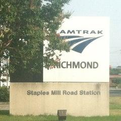 Photo taken at Richmond Amtrak Station (RVR) by Hedge on 7/3/2012