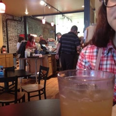Photo taken at Cafe Moxo by Collin S. on 5/25/2012