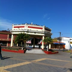 Photo taken at Parque de Guadalupe by Adolfo S. on 3/25/2012