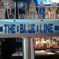 Photo taken at The Blue Line Sports Bar by Shahid B. on 4/19/2012