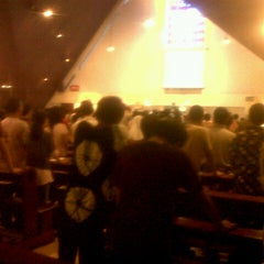 "Photo taken at Gereja St. Ignatius Loyola by Lucky "" INGA "" S. on 7/1/2012"