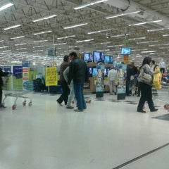 Photo taken at Carrefour by Cristiane C. on 7/28/2012