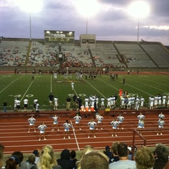 Photo taken at University of Charleston Stadium at Laidley Field by Rainelle N. on 9/9/2011