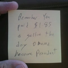 Photo taken at Obama Gas Station by Drew C. on 8/18/2012