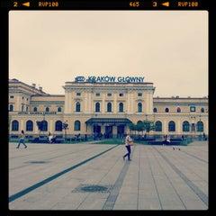 Photo taken at Kraków Główny by Verusha on 5/4/2012