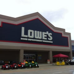 Photo taken at Lowe's Home Improvement by Chris O. on 11/19/2011