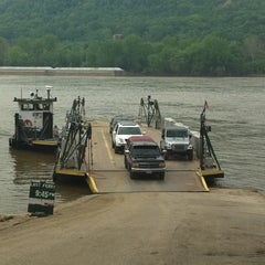 Photo taken at Anderson Ferry by Chad F. on 5/10/2011
