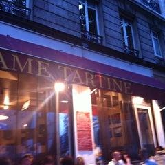 Photo taken at Dame Tartine by Saj J. on 8/11/2011