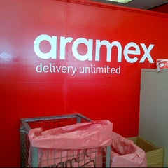 Photo taken at أرامكس | aramex by The U. on 1/14/2012