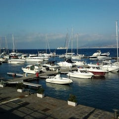 Photo taken at Porto di Messina by Sergey I. on 5/2/2012