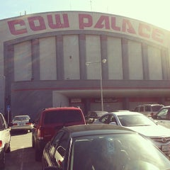 Photo taken at Cow Palace by Steve R. on 2/5/2012