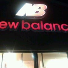 Photo taken at New Balance by Mike D. on 12/13/2011