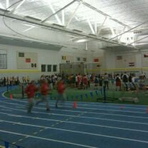 Photo taken at Indoor Track & Tennis Facility (ITT) - Smith College by Sami W. on 12/16/2011